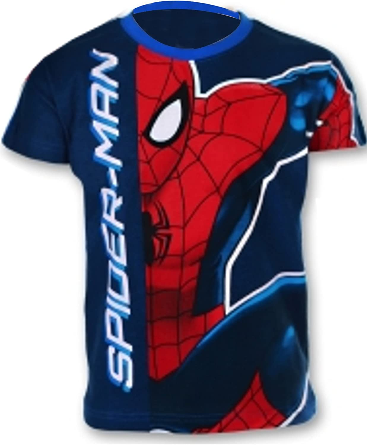 Marvel Spiderman Boys Top T-Shirt Age 2 to 8 Years