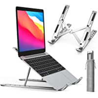 Laptop Stand, iVoler Adjustable Aluminum Laptop Computer Stand Tablet Stand,Ergonomic Foldable Portable Desktop Holder…