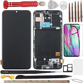 YHX-OU - Pantalla LCD AMOLED para Samsung Galaxy A40 2019 A405F SM-A405FN/DS A405 (5,9