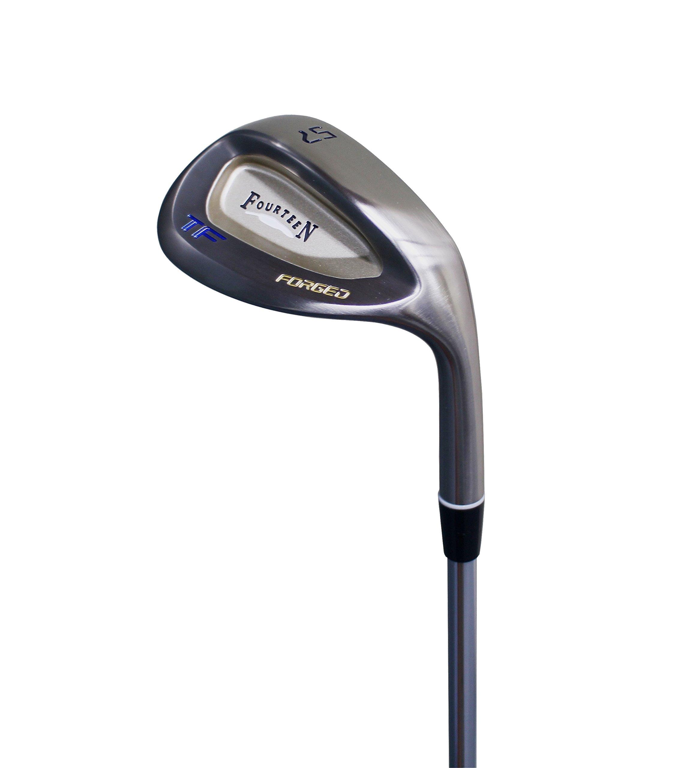 Fourteen Golf Male TF V2 Forged 51 Degree KBS Stiff Wedge by Fourteen Golf