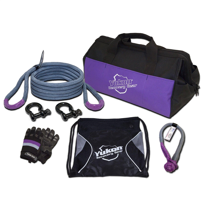 Yukon Gear YRGKIT-2 20 Foot Rope (3/4'') Off Road Recovery Gear Kit by Yukon Gear