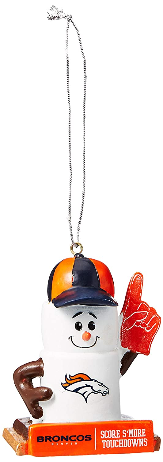 Forever Collectibles 2016 NFL Football Team Logo Smores Holiday Tree Ornament