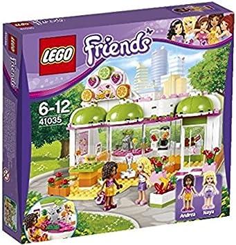 Lego Friends - El Bar de zumos de Heartlake (41035): Amazon.es: Juguetes y juegos