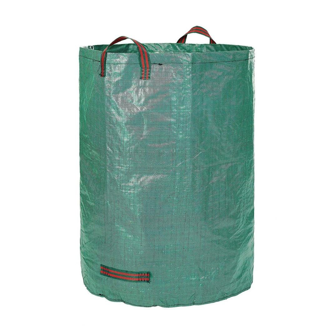 Garden Waste Bags,Garden Bags Reusable Yard Waste Bag,Chartsea Gardening Pop Up Bag, Reusable Yard Waste Bag, Collapsible Container, Garden Lawn and Leaf Bag, Canvas Bucket (272L)