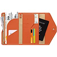 Witery PU Leather Folded Credit Business ID Card Holder Passport Wallet Case