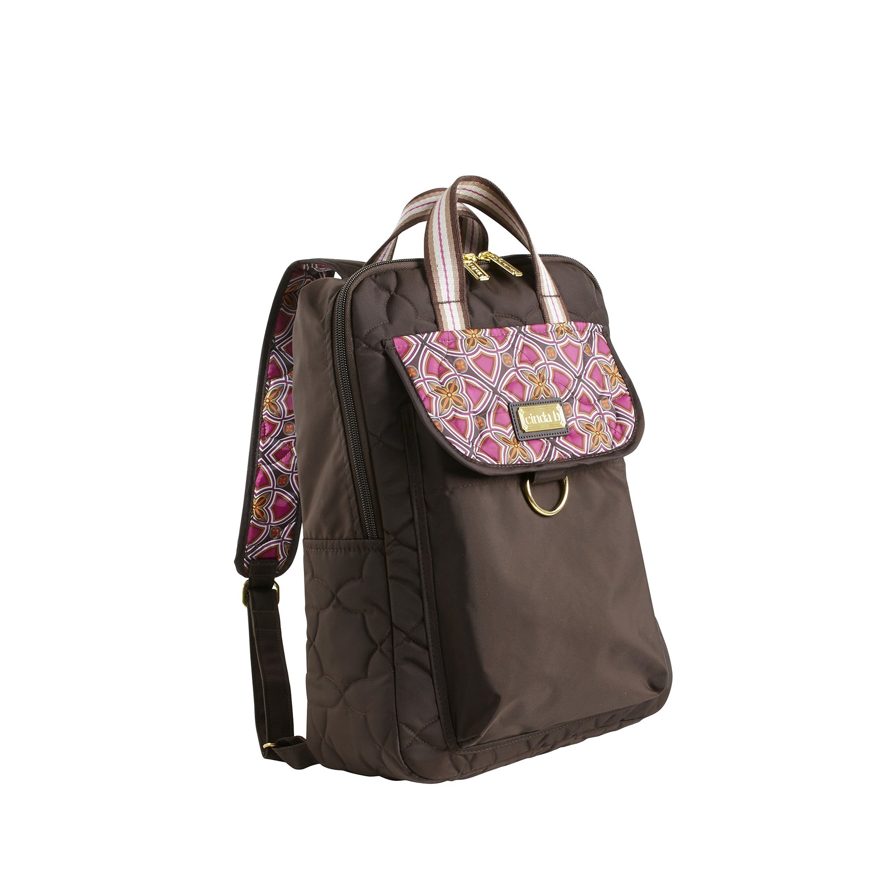 cinda b. City Backpack, Stained Glass, One Size