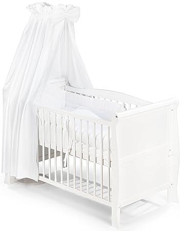Babybett Weiss
