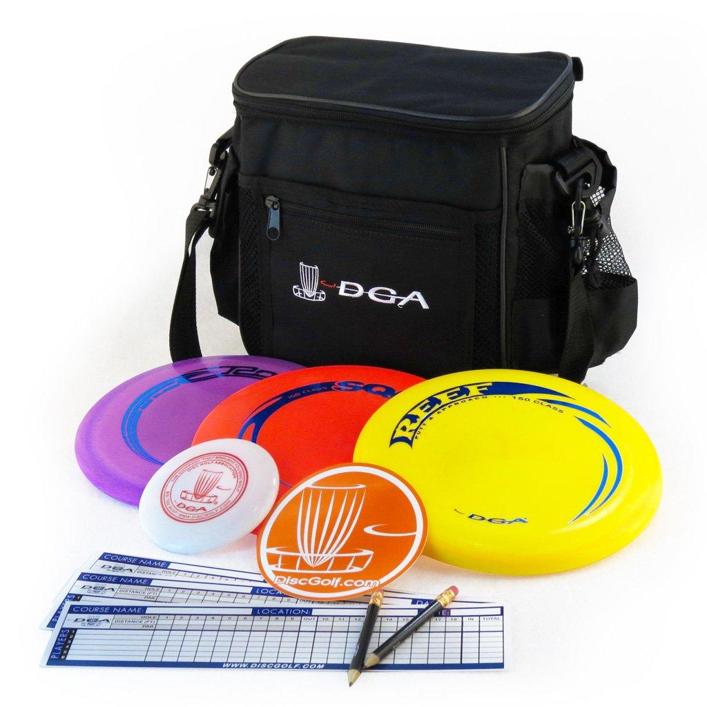 DGA Disc Golf Starter Set, Black by DGA