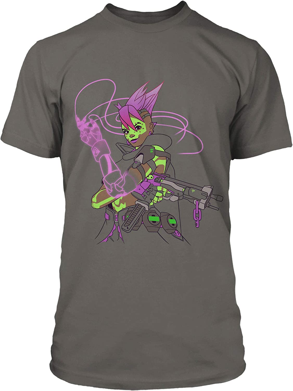 JINX Overwatch Looking for Me? (Sombra) Men's Gamer Tee Shirt