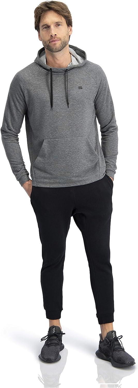 Workout Sweatshirts for Men w//Adjustable Hoodie Dry Fit Mens Hoodies Pullover