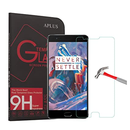 aplus oneplus 3 screen protector high definition tempered glass protective film extreme hardness amazoncom tempered glass