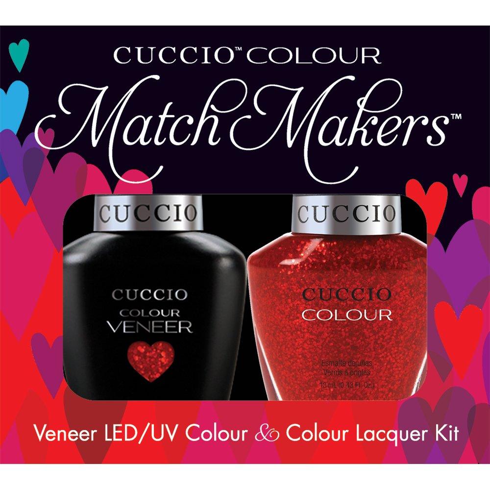 Amazon.com : Cuccio Veneer Nail Polish, Vegas Vixen : Cuccio Gel ...