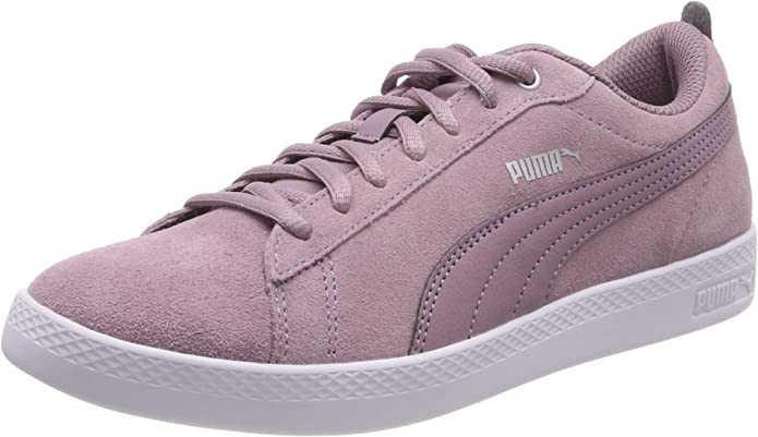 Puma Smash V2 Sneakers Damen Violett (Elderberry-silver)