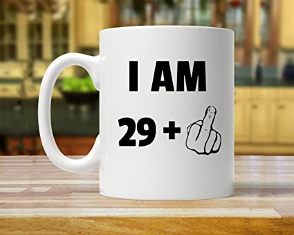 Funny Inspirational Mugs Cup 11oz 30th Birthday Party Dirty 30 Gift