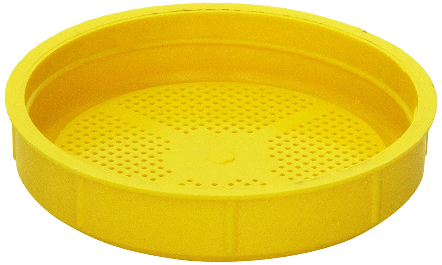 The Sprout House Yellow Sprouting Lid for Wide Mouth Mason Jar BPA FREE,1.6 Ounce SHYELLOWLID