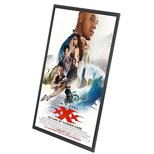 Modern Lighted Movie Poster Frame Image Collection - Frames Ideas ...