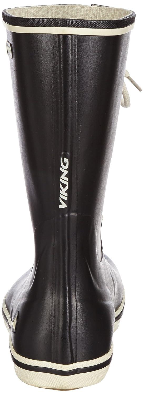 Viking Viking Viking RETRO LIGHT Damen Halbschaft Gummistiefel Schwarz (schwarz 2) 63a483