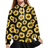 WELLFLYHOM Unisex Kids Sweatshirt Boys Girls Hooded Kangaroo Pocket Pullover Hoodies Graphic