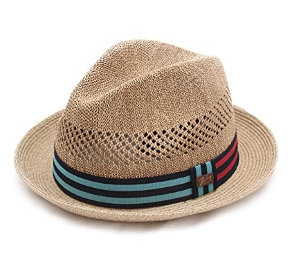 bb882fe4 Bailey of Hollywood Berle Trilby Hat Packable at Amazon Men's ...