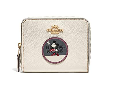 affordable price sale uk new product Amazon.com: COACH Women's Boxed Minnie Mouse Small Zip ...