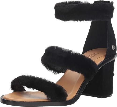 fluffy ugg sandals