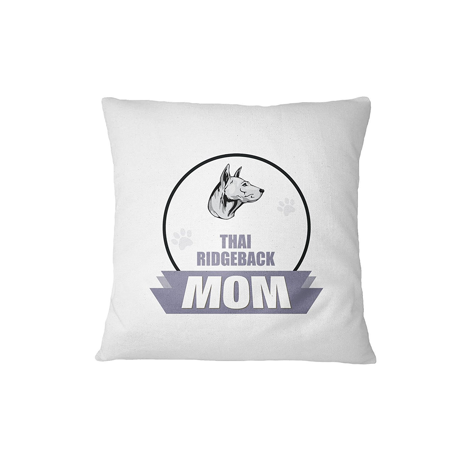 THAI RIDGEBACK DOG MOM Sofa Bed Home Decor Pillow Cover Cover Only RENJUNDUN