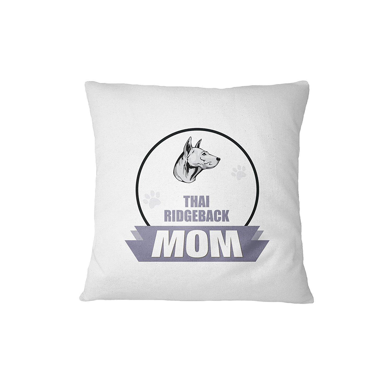 THAI RIDGEBACK DOG MOM Sofa Bed Home Decor Pillow Cover Cover Only RENJUNDUN by RENJUNDUN