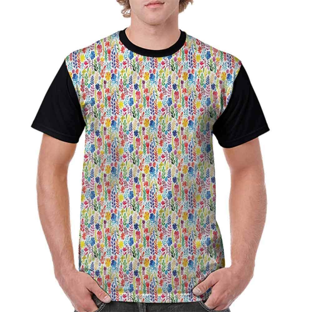 Vintage T-Shirt,Awakening Spring Nature Herbs Fashion Personality Customization