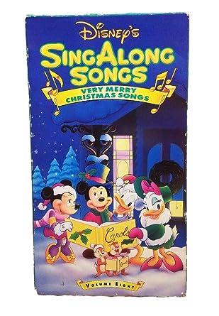Disney Sing Along Songs Very Merry Christmas Songs.Amazon Com Disney S Singalong Songs Very Merry Christmas