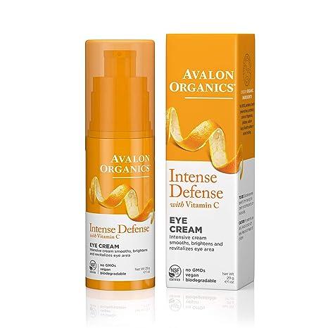 Avalon activo orgánicos vitamina C revializing ojo crema hecho con orgánico ing. 30 ml