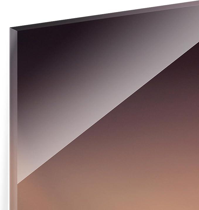 Water Drops Hydrangeas Square 1:1 HxW 59x60 cm Bilderwelten Glass Splashback