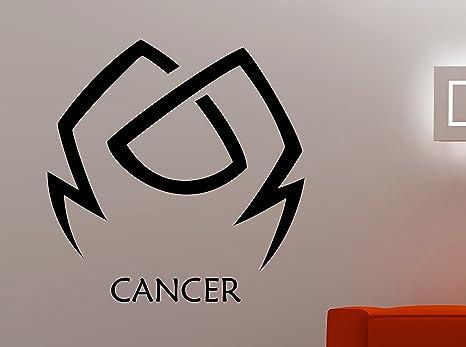 Zodiac Cancer Sign Wall Sticker Astrology Horoscope Vinyl Decal Art