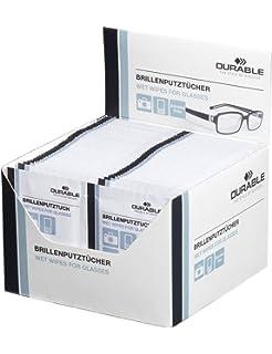 Durable 585302 Lingette Spéciale pour Nettoyer les Verres de Lunettes et  Optiques Appareils Photo en Sachet 15477e6fd593