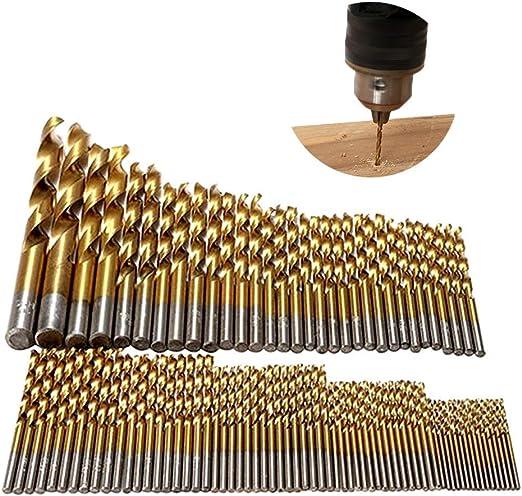 Aluminiumlegierung Handbohrmaschine mit 10 HSS Bohrern