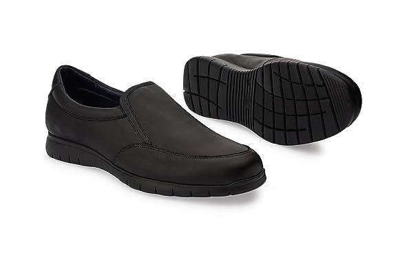 f21eeaea1b0ee Oneflex Axel Negro - Zapatos cómodos de Hombre livianos y Antideslizantes   Amazon.es  Zapatos y complementos