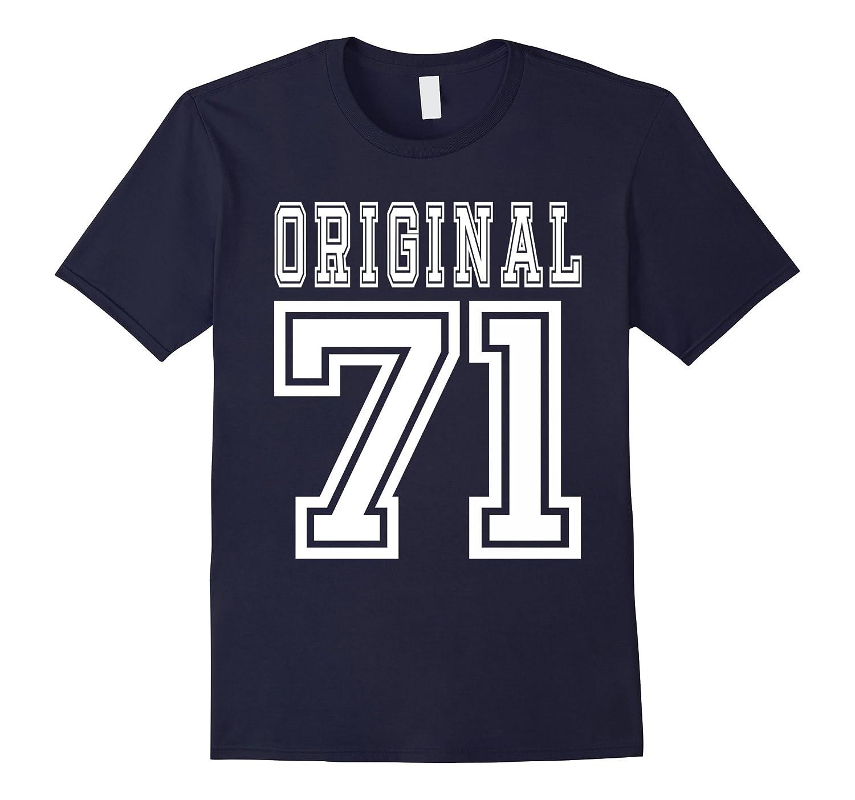 1971 T-shirt 46th Birthday Gift 46 Year Old B-day Present-TD