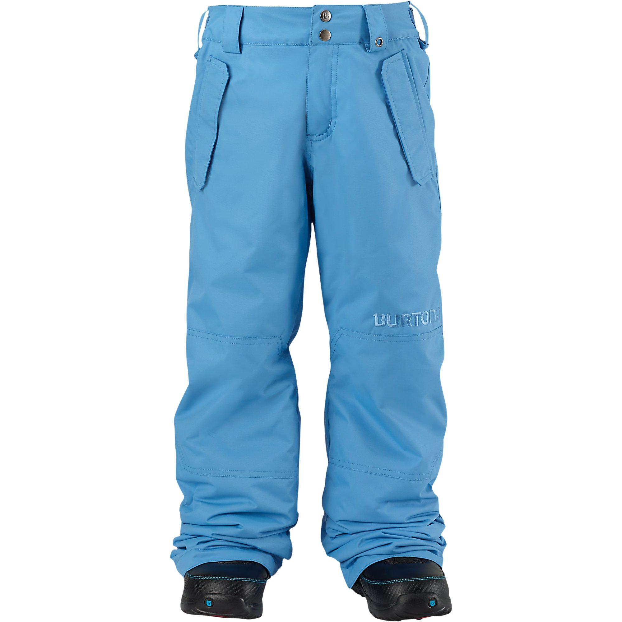 Burton Boy's Parkway Pant, Blue Steel, X-Small