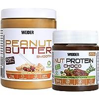 Weider Pack Peanut Butter 1Kg + Nut Protein