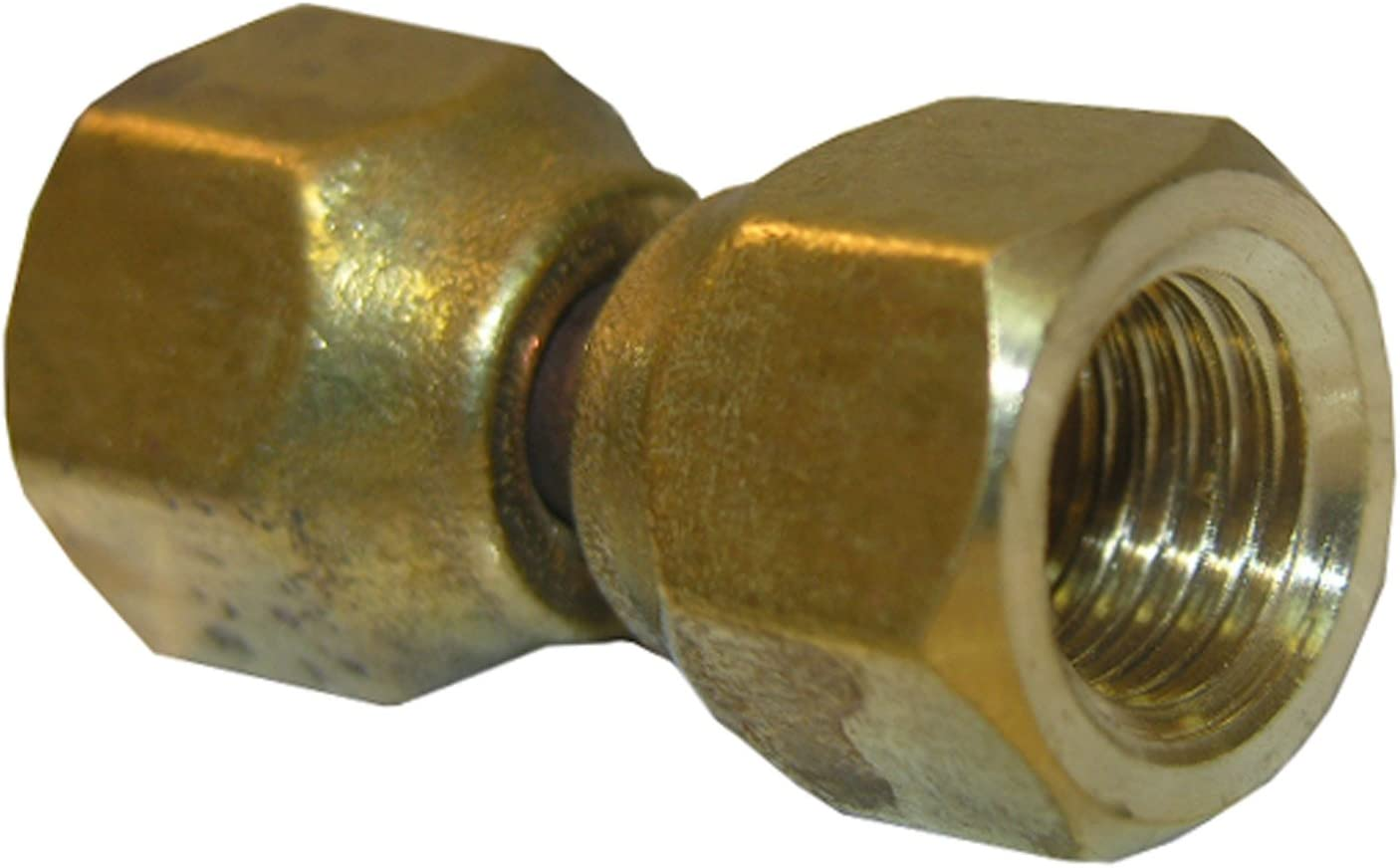 LASCO 17-6783 1//4-Inch Female Flare by 1//4-Inch Male Pipe Thread Brass Adapter