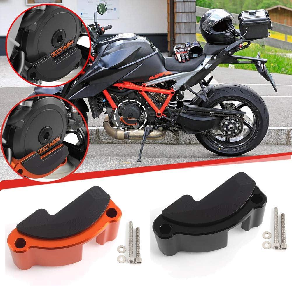 Xx Ecommerce Motorrad Links Motor Rennen Kupplung Abdeckung Fall Schieberegler Bewachen Beschützer Für K T M 1290 Super Für Duke R Gt Rc8 Schwarz Auto