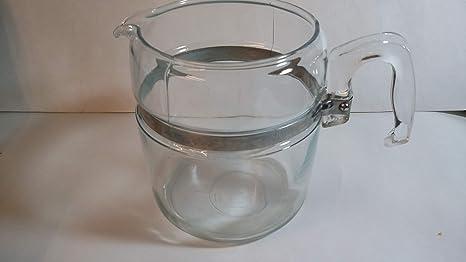 Amazon Com Vintage Pyrex Flameware 9 Cup Glass Coffee Pot 7759 Electric Coffee Percolators Serveware