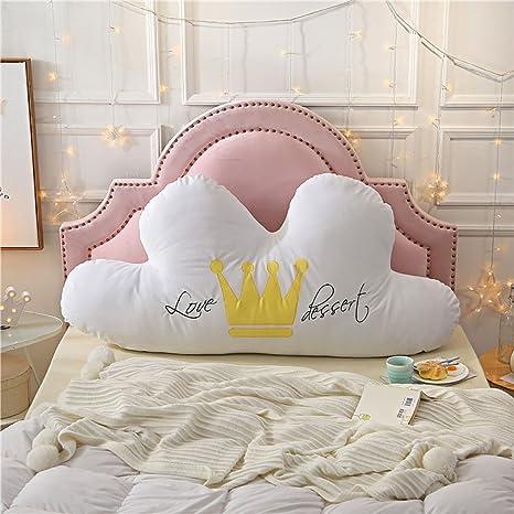 VERCART cojín nube bordado appuie cabecero de cama sofá ...