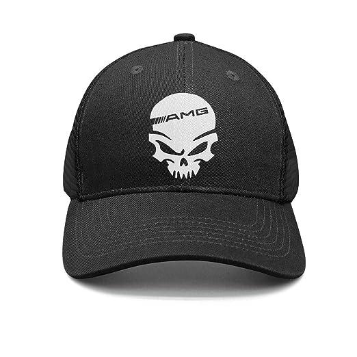 f6e05eab3c1e0 Amazon.com  Unisex Men s Mercedes AMG Skull Adjustable Baseball Dad ...