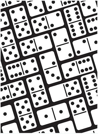 Darice 10 8 X 14 6 Cm Domino Prägung Vorlage Amazon De Küche