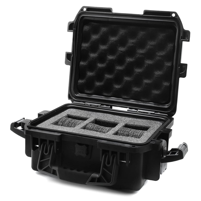 Invicta IG0097-SMIS-B 腕時計ボックス ケース 3スロット 黒 ブラスチック B005H3QKLI