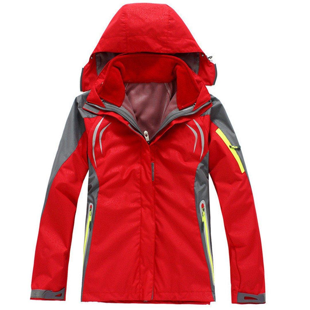 Hiking Clothing Outdoor Sport Windbreaker Skate Rain Coat Winter Ski Tech 3In1 Jiakes