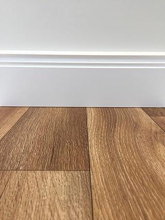Vinylboden 4m Breite /& 2,5m L/änge Fu/ßbodenheizung geeignet PVC Platten strapazierf/ähig /& pflegeleicht robuster phthalatfrei rutschhemmender Fu/ßboden-Belag PVC-Boden Classic Holzoptik Natur