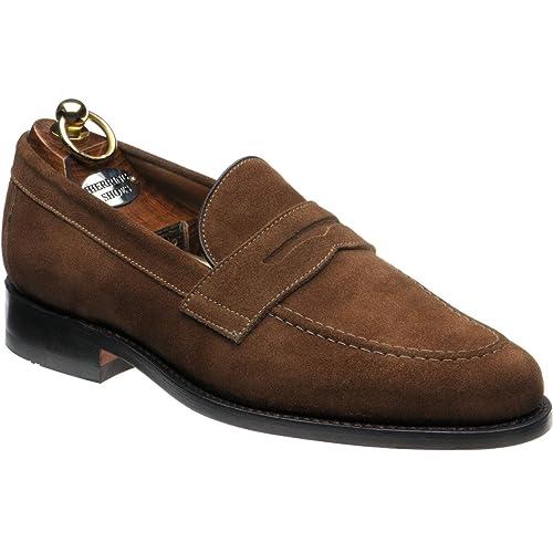 Herring 148437194 - Mocasines de Ante para Hombre Marrón Ante marrón, Color Marrón, Talla 27,5 EU: Amazon.es: Zapatos y complementos