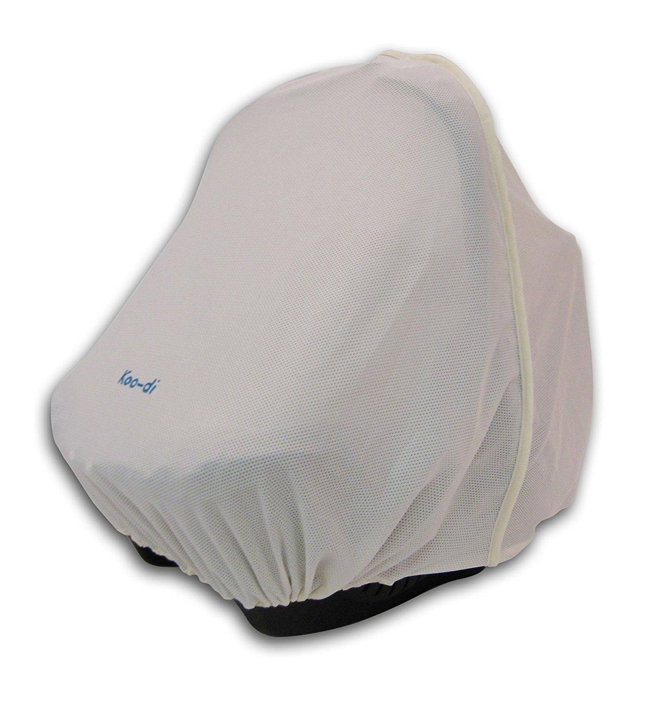 KOO-DI Pack it Car Seat Sun and Sleep Shade (Cream) WHL (Weybury Hildreth Ltd) KD055/01