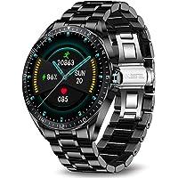 LIGE Smartwatch, Fitnesstracker Met Bloeddruk, Hartslagmeter, 1,3 Inch Volledig Touchscreen, IP67 Waterdichte Smartwatch…